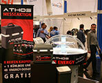 ATHOS promotion at the tyre fair 2014