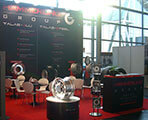Hämmerling The Tyre Company fair stand at the tyre fair IAA 2010